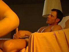 Hot stallion rides severe cock