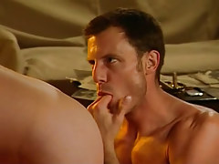 Bear gay guy fingering taut men shithole