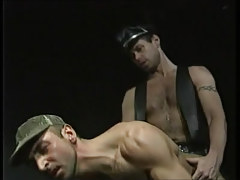 Horny bear man fucks dilf in doggy style