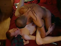 Naughty dilf hard bonks redhead man-lover