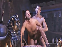 Muscle Arabian man-lovers tough fuck in doggy style