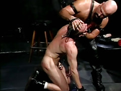 Mature wavy gay torments disobedient gentleman