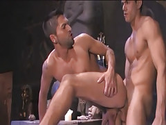 Beautiful Arabian man-lover breaks through in companion behind