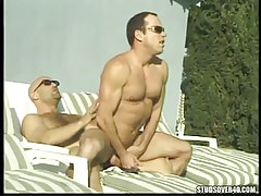Mature homosexual rides cock of bear homosexual outdoor