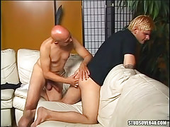 Lusty mellow gay fingering appetizing studs gap