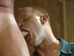 Hot gay stud sub chops appetizing ramrod