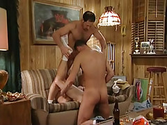Dad and dude sub put on horny gay