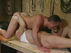 Gay hunks suck schlongs in 69 pose
