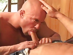 Sexy twink orally fixating glamorous schlong
