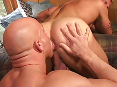 Mature gay licks tight guys opening