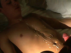 college man-lover receives apple bottoms fucked and abdomen cummed