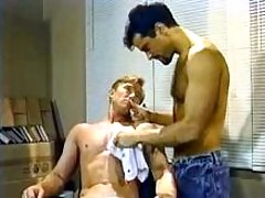 Handsome twinks have oral getting joy and cock cream