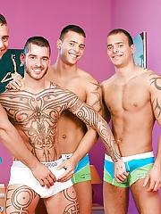 Visconti Triplets. Gay Pics 1