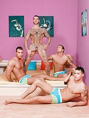 Visconti Triplets. Gay Pics 2