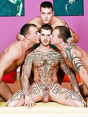 Visconti Triplets. Gay Pics 3