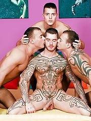 Visconti Triplets. Gay Pics 4