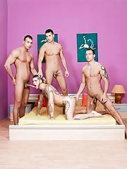 Visconti Triplets. Gay Pics 7