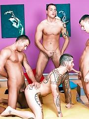 Visconti Triplets. Gay Pics 8